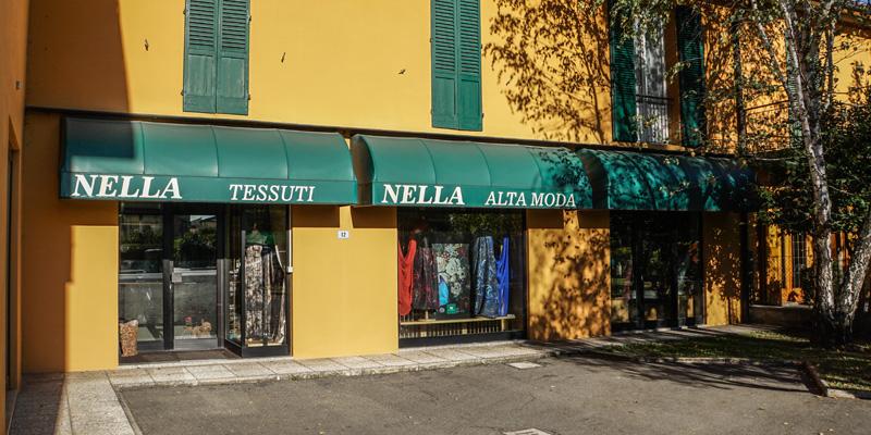 Nella tessuti contatti alta moda tessuti made in italy for Tessuti arredamento bologna